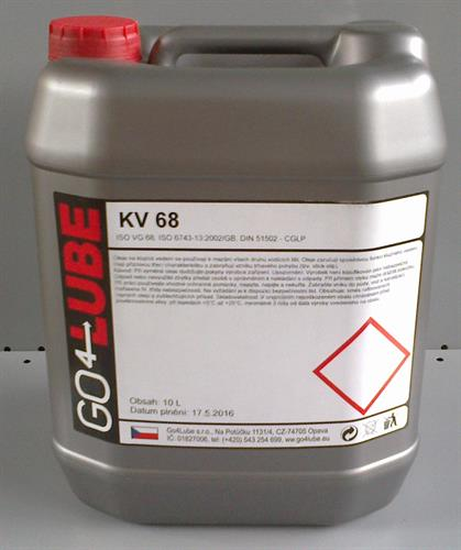 GO4Lube KV68 olej pro kluzná vedení
