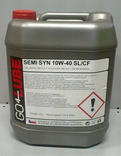 GO4Lube SEMI SYN 10W-40 motorový olej