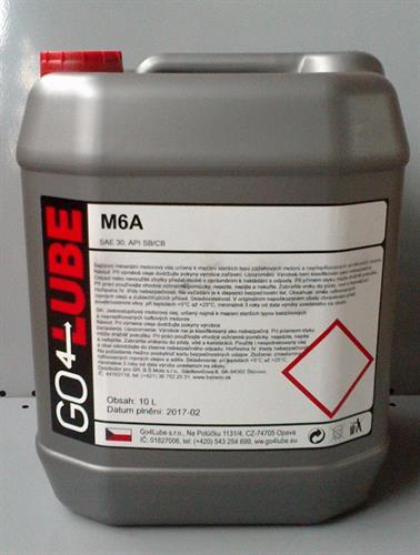 GO4Lube M6A motorový olej 10 l
