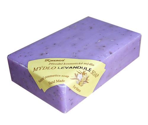Přírodní kosmetické mýdlo LEVANDULE