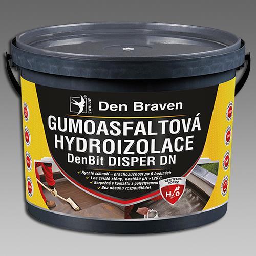 Gumoasfaltová hydroizolace DenBit DISPER DN