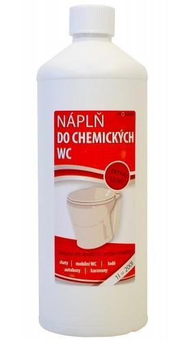 Náplň do chemického WC
