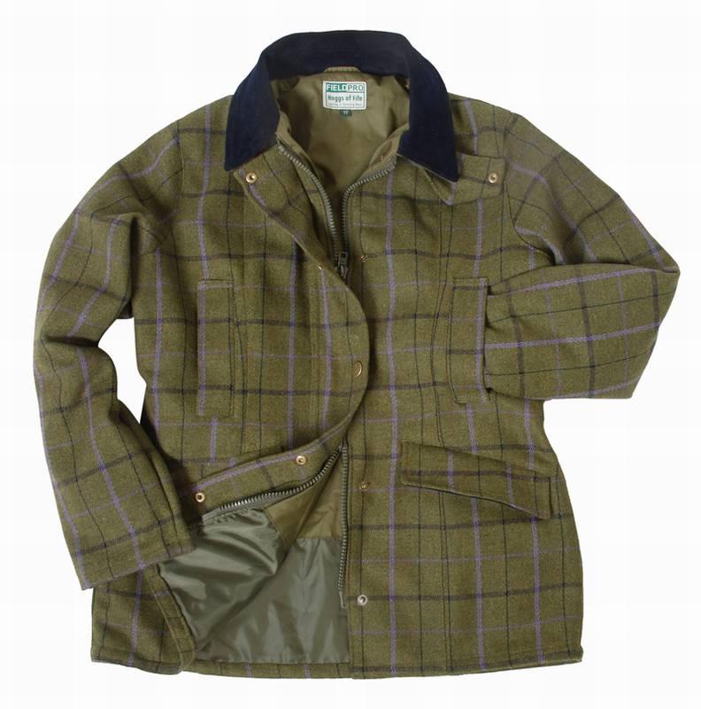 Tvídový kabát Isla