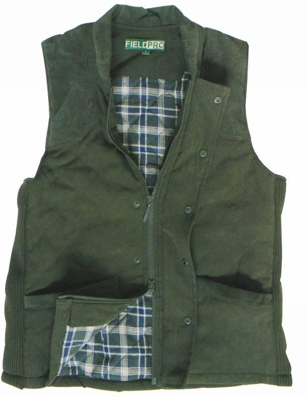 prošívaná vesta pro střelce