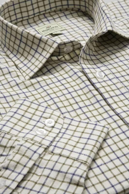 Kostkované košile Tattersall z čisté bavlny