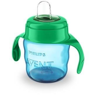 Hrneček pro první doušky classic modro -zelený 200 ml