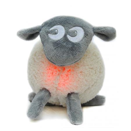Uspávací ovečka - šedá