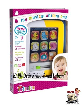 Dětský hudební tablet