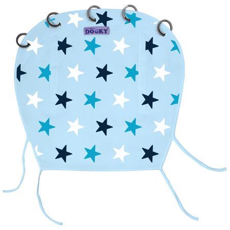 UV CLONA Hvězdy Modrá ke kočárku, k autosedačce a na golfky