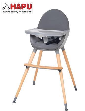 Multifunkční designová jídelní židlička L1