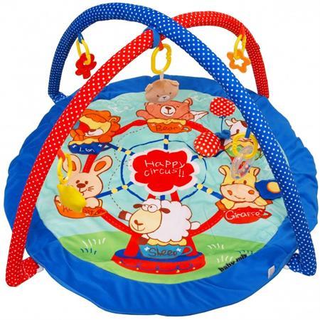 Hrací deka s hrazdičkou - Cirkus