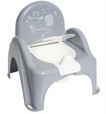 Nočník židlička hrací Sova