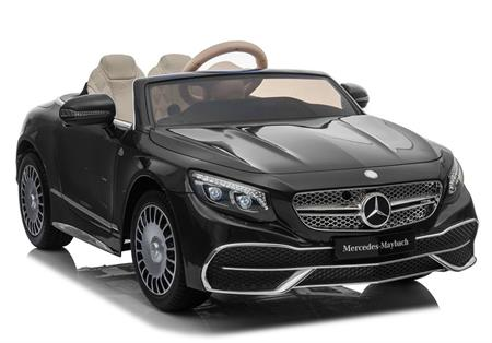 Mercedes Maybach Black Paint Car