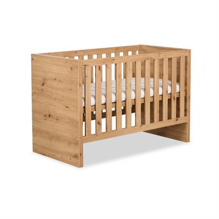 Dřevěná postýlka - Hnědá