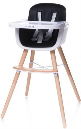 Jídelní židlička multifunkční Černá