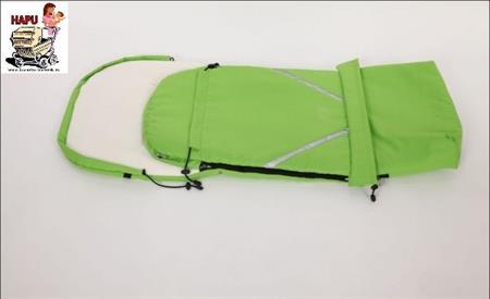 Zimní fusak s prodloužením zelený