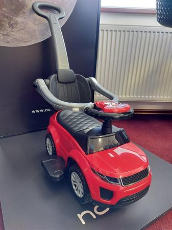 Odrážedlo + vodící autíčko
