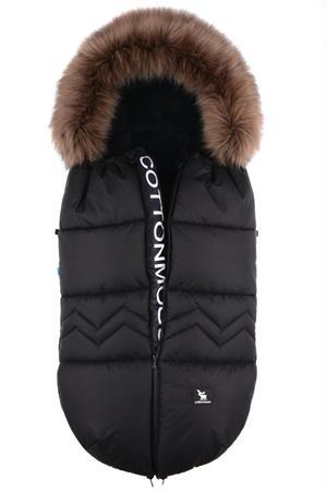 Luxusní zimní fusak North Černý