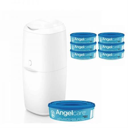 Koš na pleny Angel Care + 5 náplní