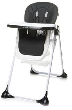 Jídelní židlička ECO Černá