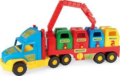 Hračka Truck popeláři