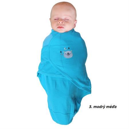 Spací pytel pro děti modrý Méďa