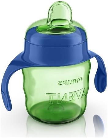 Hrneček pro první doušky classic zeleno - modrý 200 ml