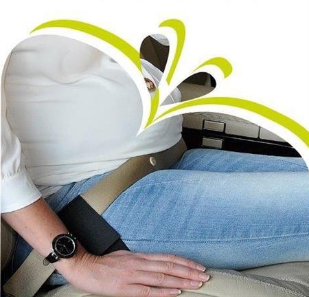Těhotenský pás do auta pro těhotné
