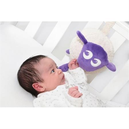 Uspávací ovečka - fialová