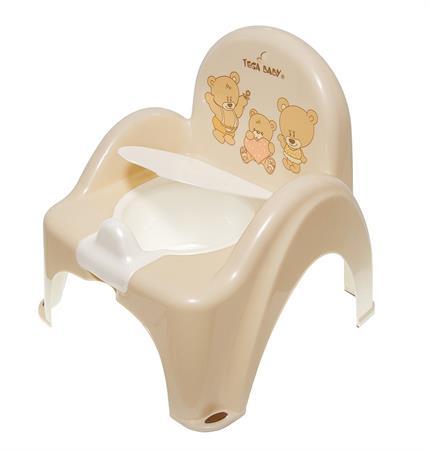 Nočník židlička hrací Medvídek