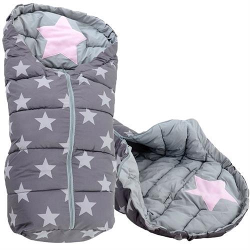 Fusak 4 v 1 Ice Baby  -  šedý hvězdičky