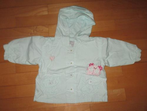 Dívčí kojenecká bundička Minoti - POUŽITÉ