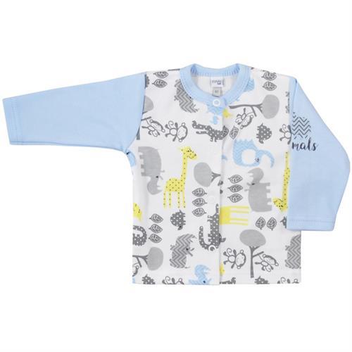 kojenecký kabátek Aminals - modrý