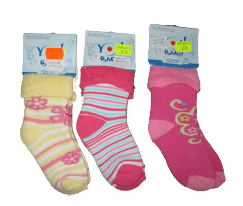 Dívčí froté ponožky vel. L