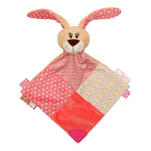 Usínáček zajíček Baby Mix růžový