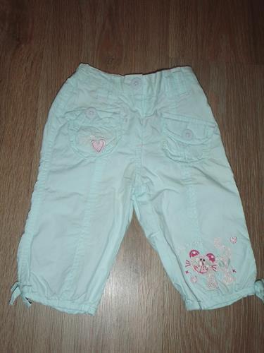Dívčí kojenecké kalhoty Minoti - POUŽITÉ