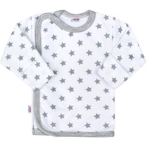 kojenecká košilka hvězdičky