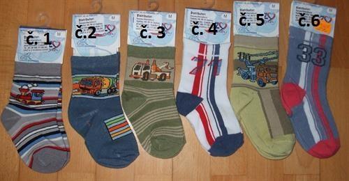 Dětské ponožky be Snazzy vel. L