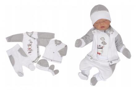 5 - dílná kojenecké souprava - zebra