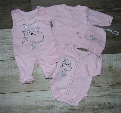 4 - dílná kojenecké souprava - liška