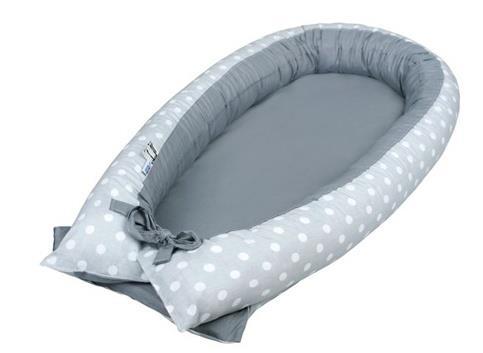 Hnízdečko pro miminko oboustranné - šedé