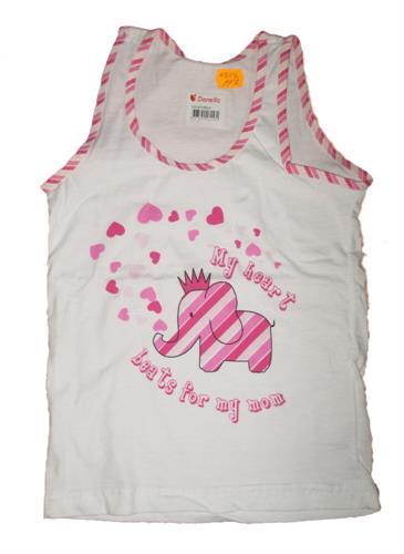 Dětské spodní tílko Donella - růžové
