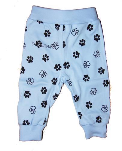 Kojenecké teplákové kalhoty - ťapky