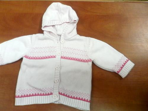 Dívčí kojenecký svetřík F&F - použitý