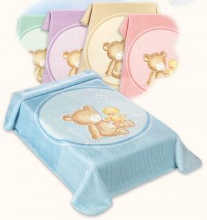 Španělská deka Baby Perla Gold