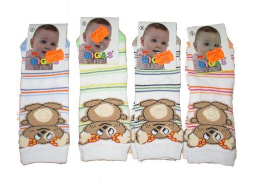 Kojenecké ponožky medvídek