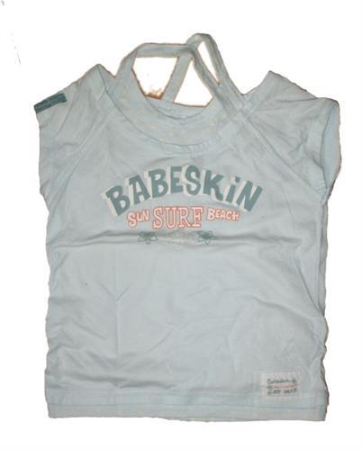 Dívčí triko Babeskin - modré