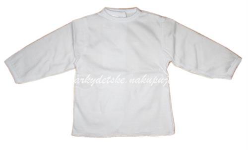 kojenecká košilka vzadu na vázání