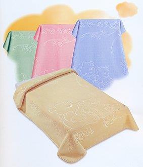originální španělská deka jednobarevná