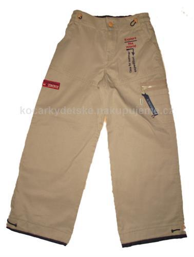 Chlapecké plátěné kalhoty DMNK